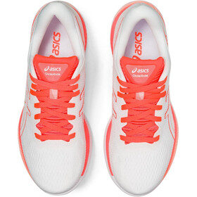 asics GlideRide Tokyo Shoes Women, white/sunrise red